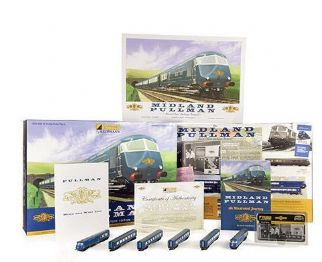 370-425EB Midland Pullman Train Pack (N Gauge)